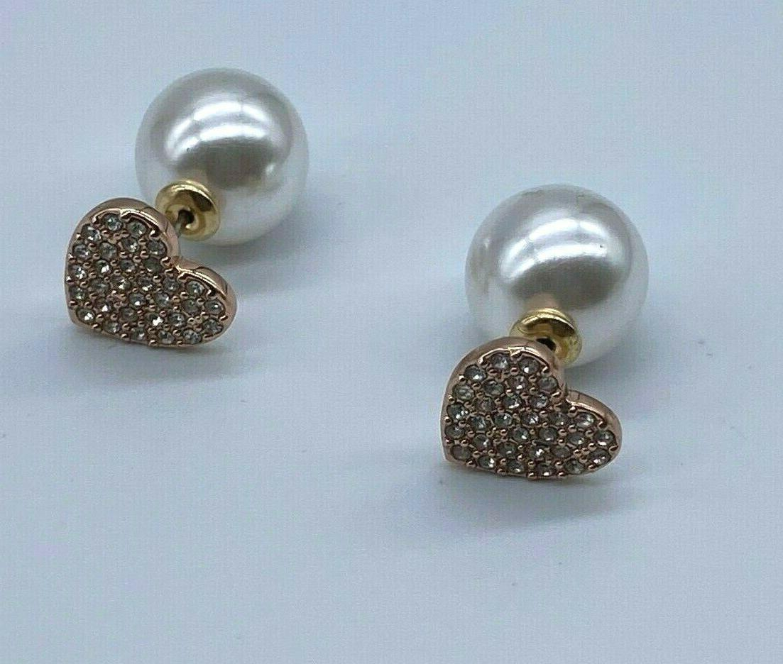 Kate Spade Tone Pearl with Heart