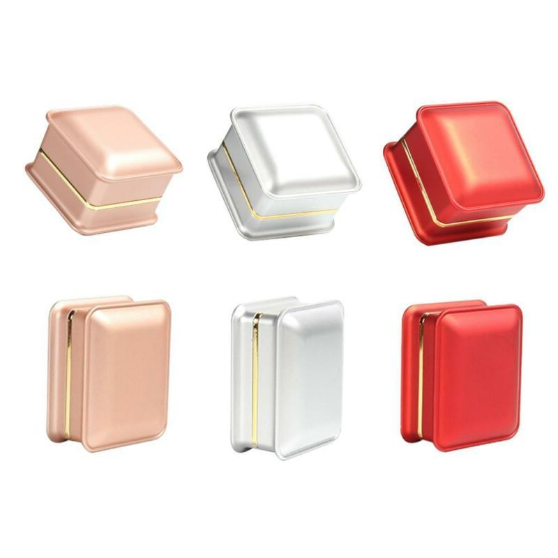 LED Display Jewelry Necklace Box Gift Boxes Organizer Case E