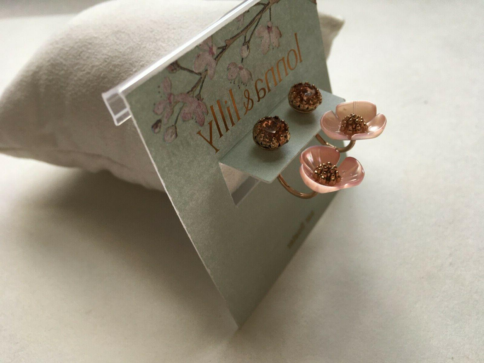 Lonna & Earrings Rose Gold Tone New Over Stock