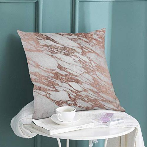 """Covers Stone Surface Natural Slab Case 18""""X18"""" Decor for Sofa Bedroom"""