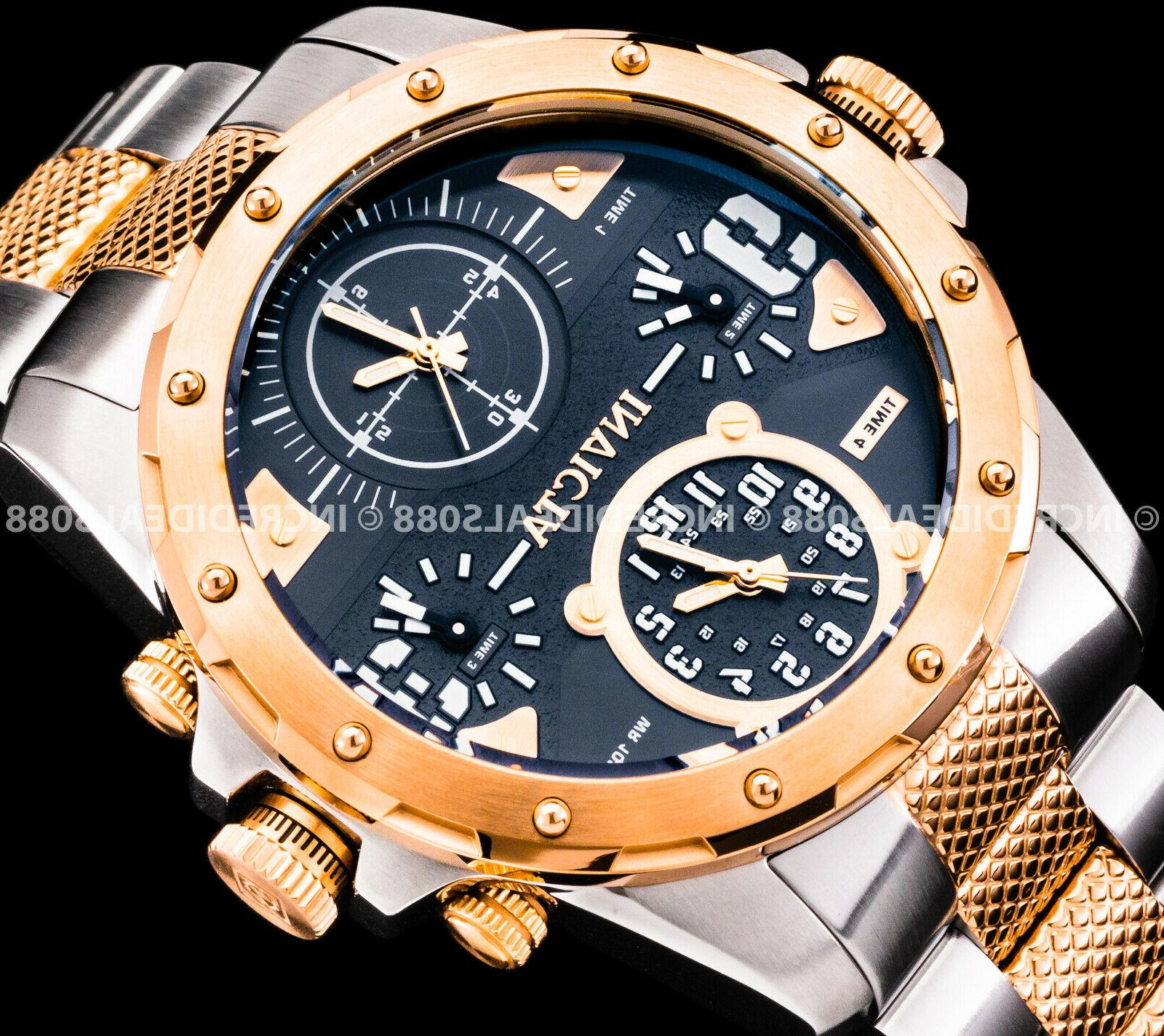Invicta Special Ops Gold Silver