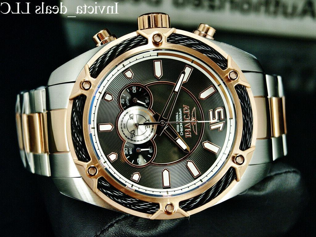 Invicta THUNDER Dial Rose SS Watch