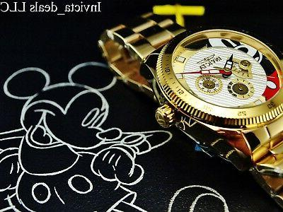 men s disney 44mm mickey mouse limited