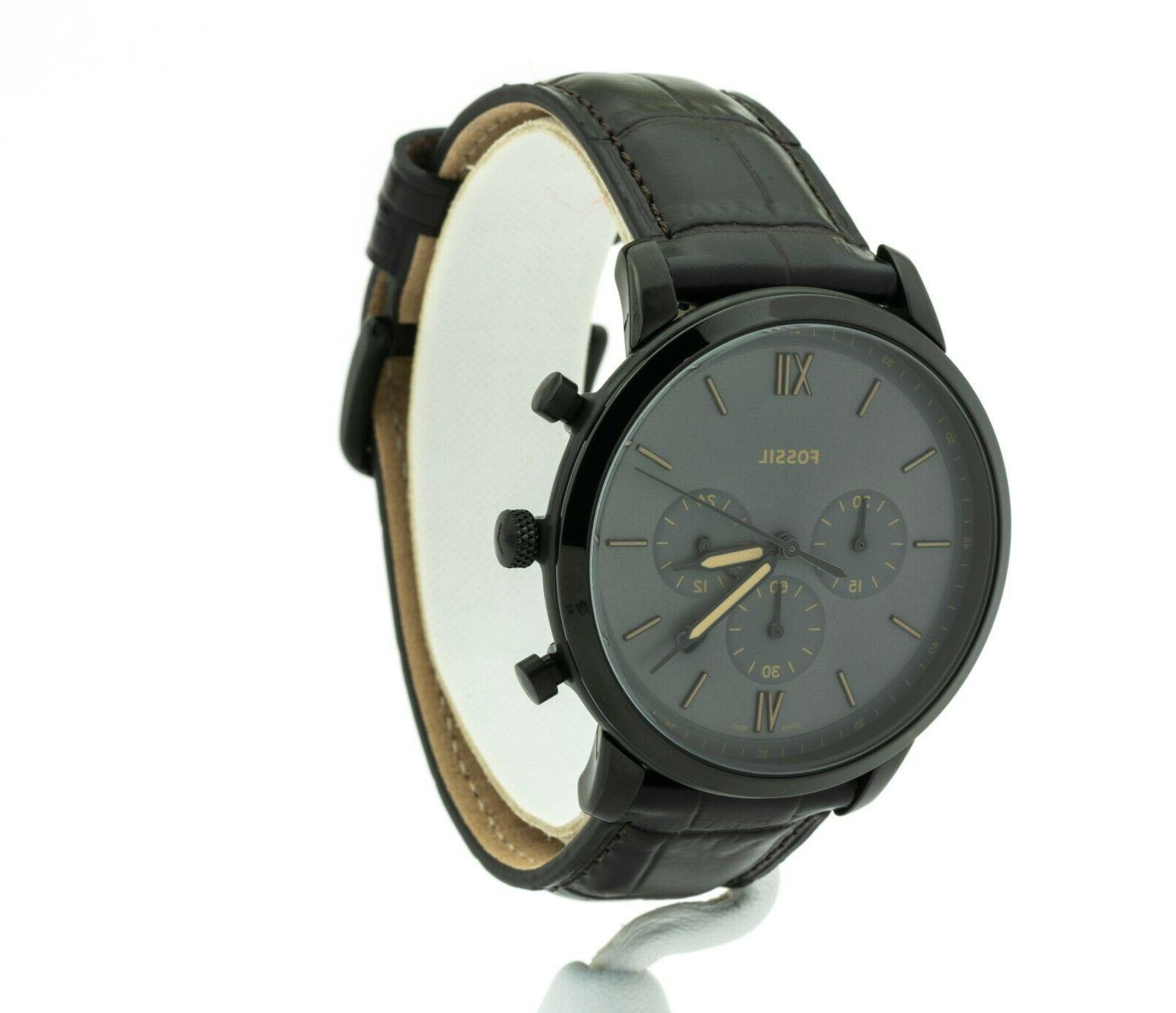 Chronograph Leather FS5579, New
