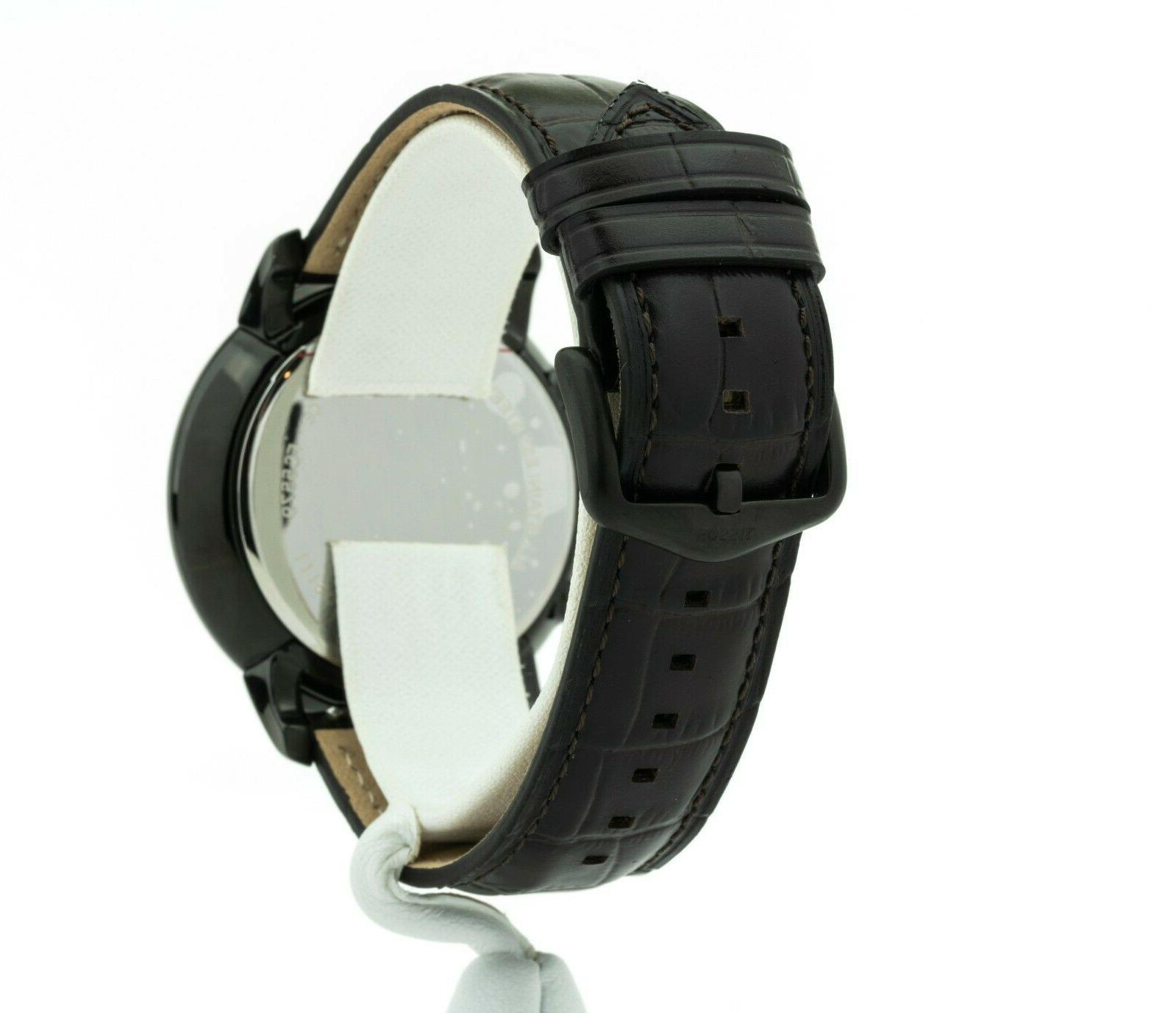 Men's Fossil Chronograph Brown Leather FS5579,