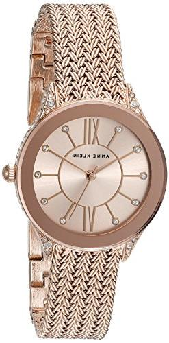 Women's Anne Klein Mesh Strap Watch, 30Mm