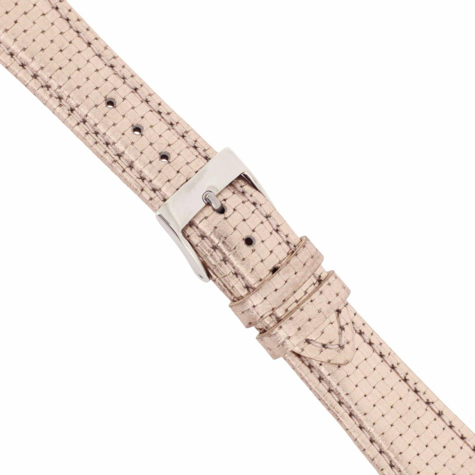 Metallic Tone Band Leather Strap Quick