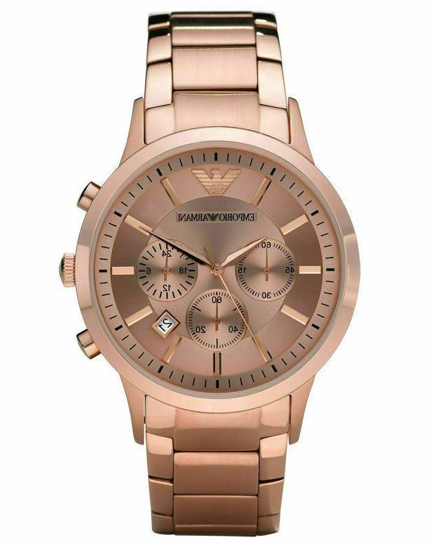 new ar1721 rose gold two tone stainless