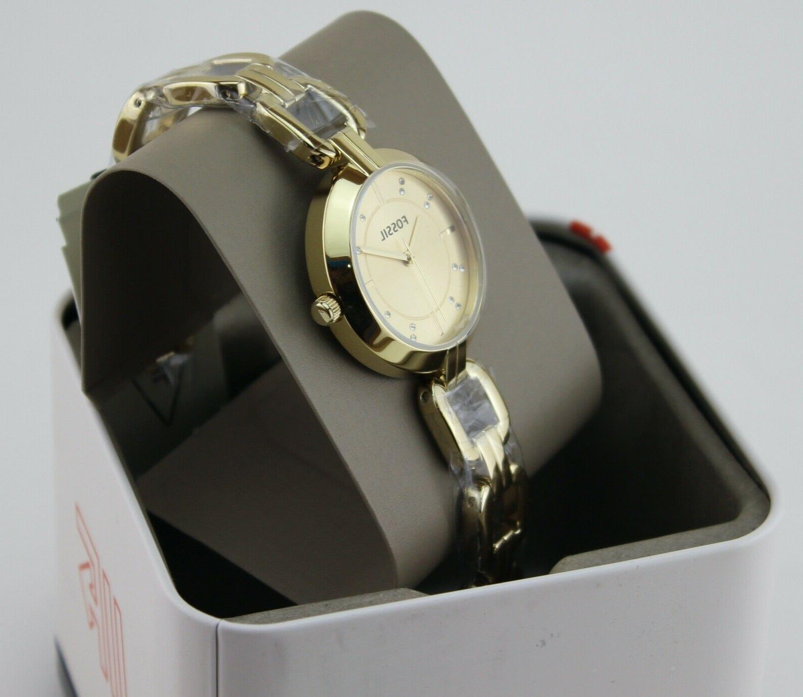 NEW AUTHENTIC GOLD WATCH