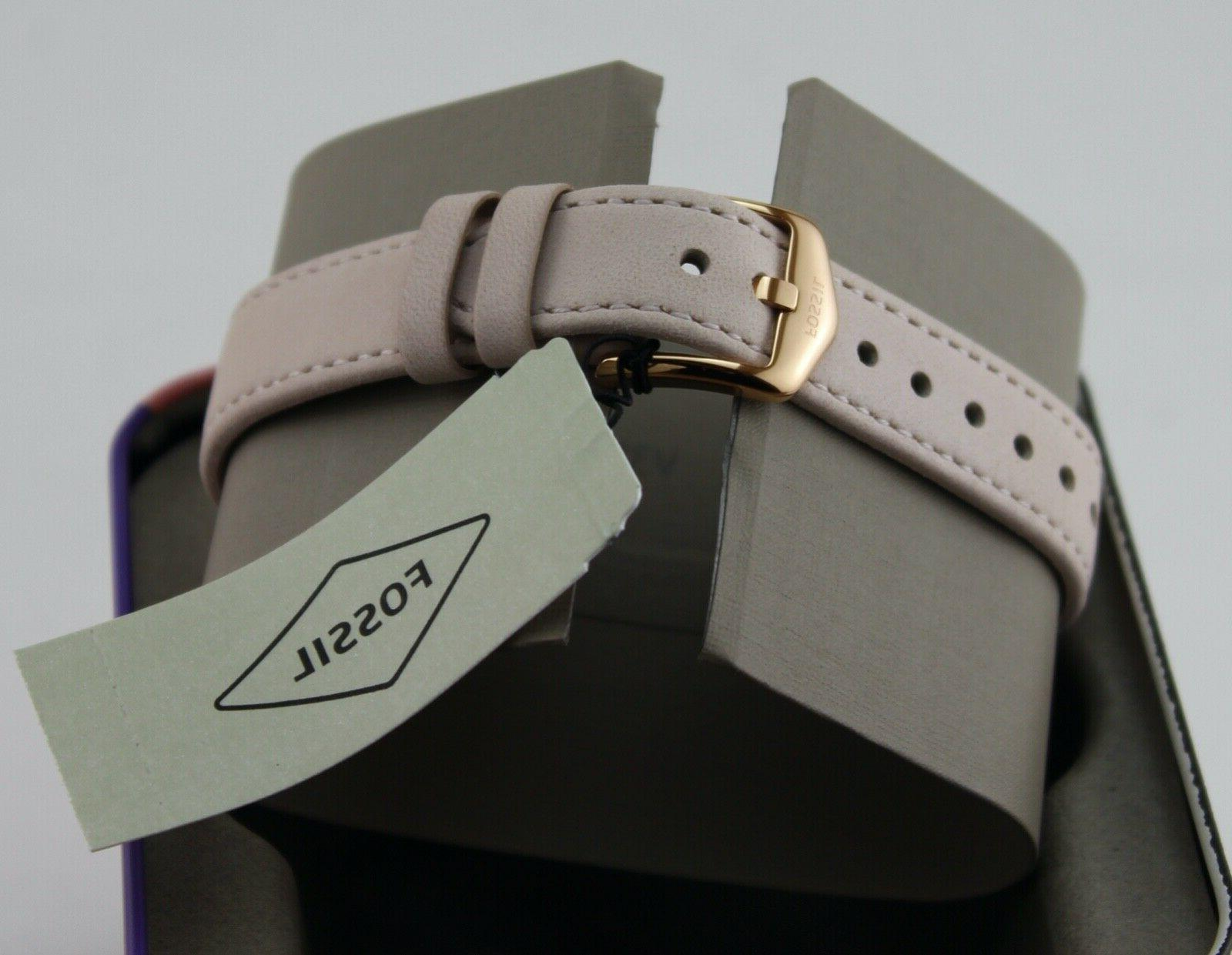 NEW FOSSIL ROSE LEATHER WOMEN'S WATCH