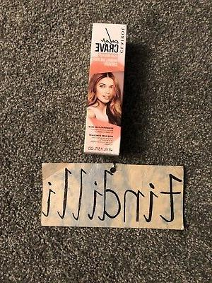 NEW Clairol Color Crave Hair Makeup Shimmering Rose Gold 1.5