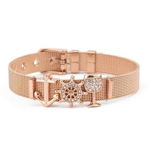 new girls buckle reflexions rose gold 3