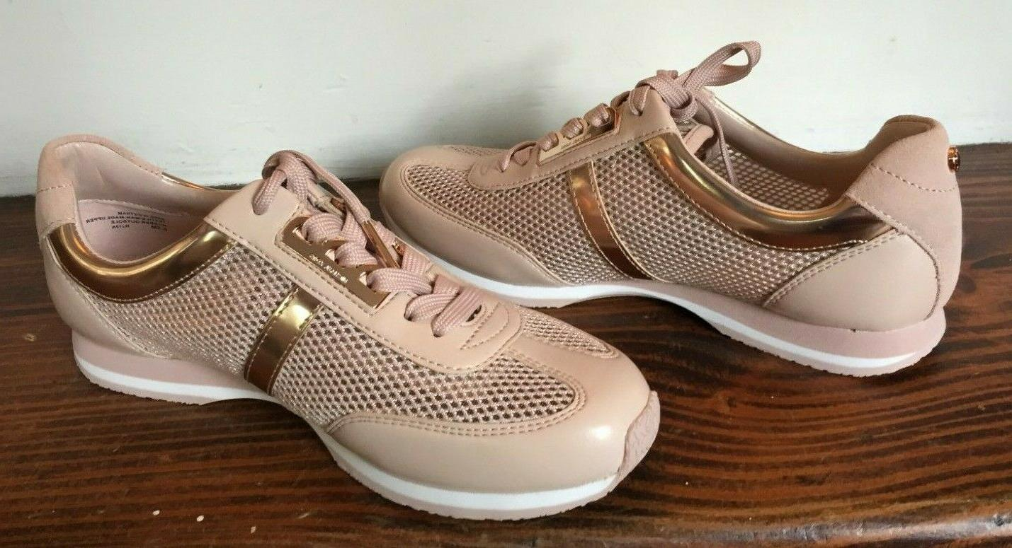 NEW Maggie Sneakers Rose Gold Size
