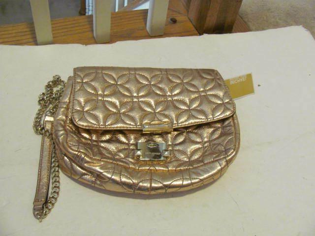 nwt michael kors quilted leather sloan large