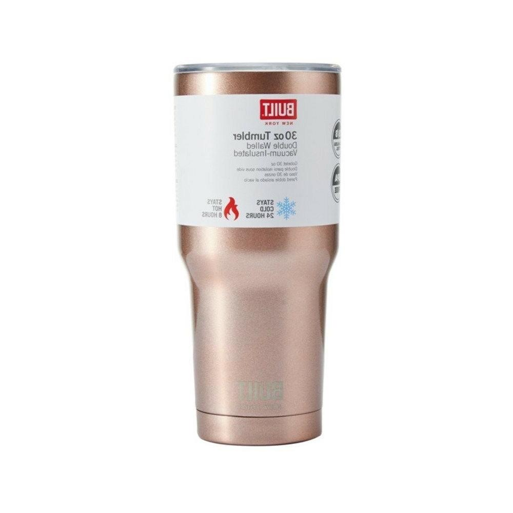 Built Ny Wall Stainless Steel Vacuum Insulated Tumbler 30-Ounce
