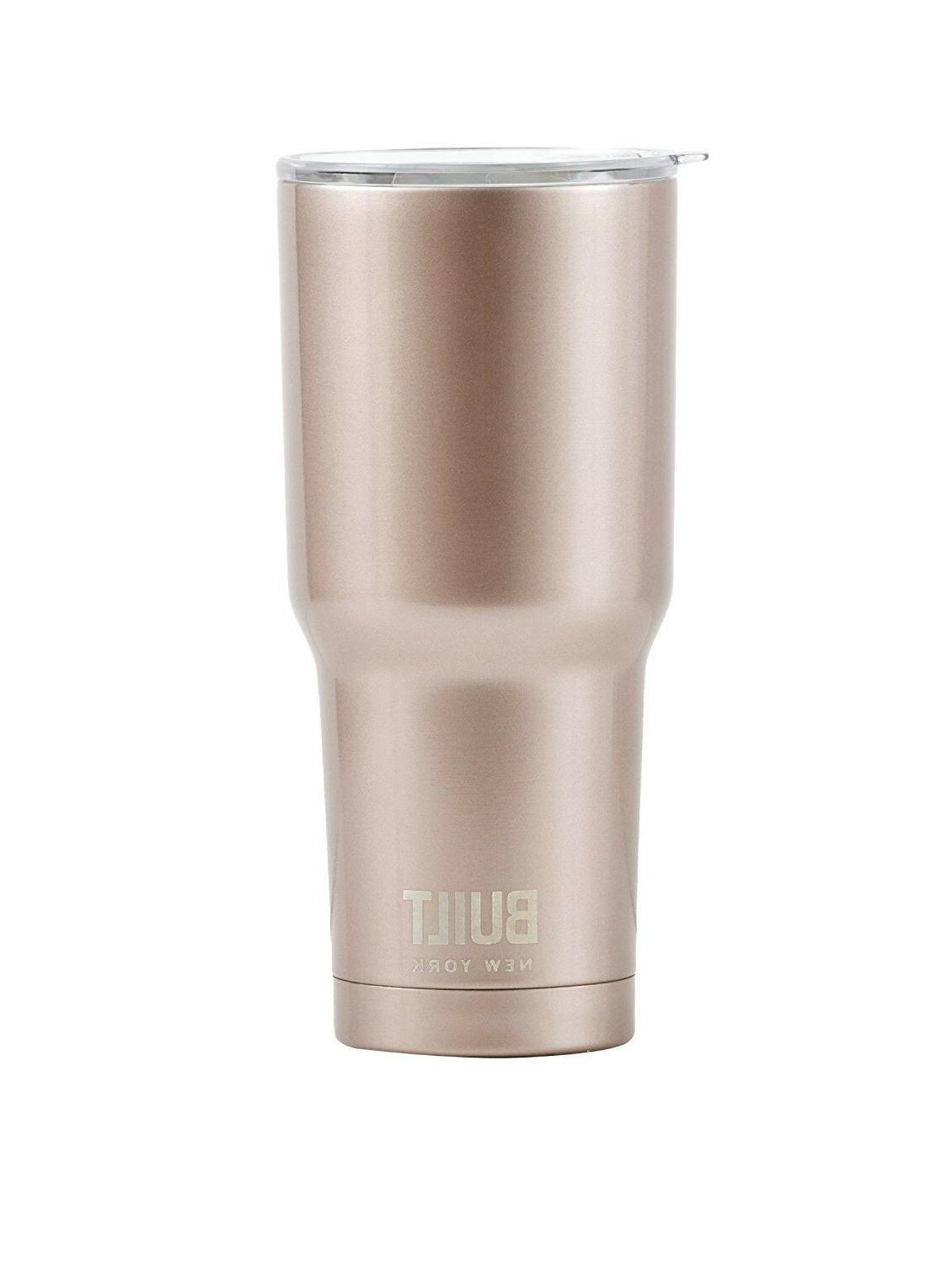 Built Stainless Vacuum Tumbler 30-Ounce Rose