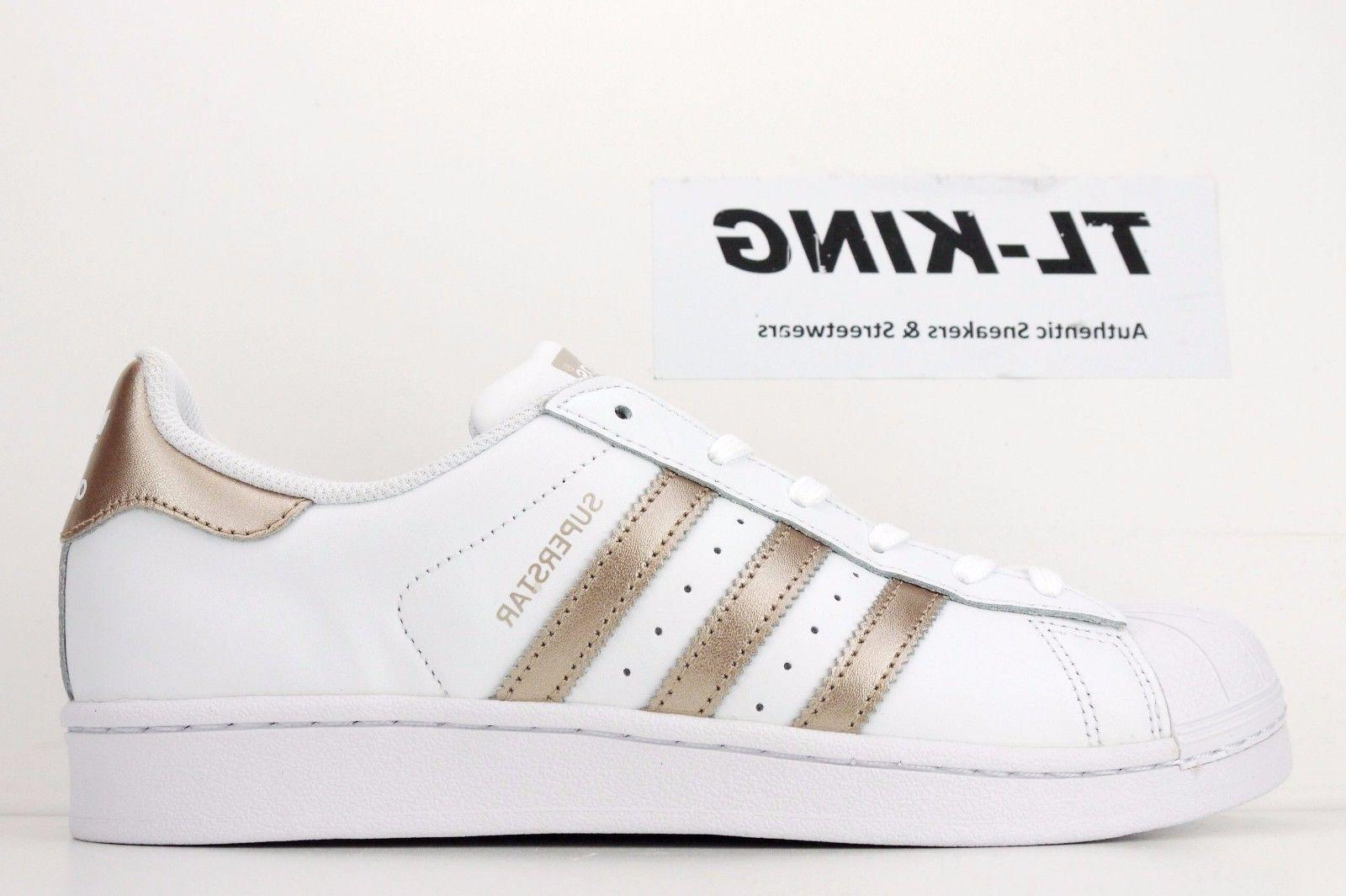 Adidas Originals W Womens Superstar White Rose Gold Classic