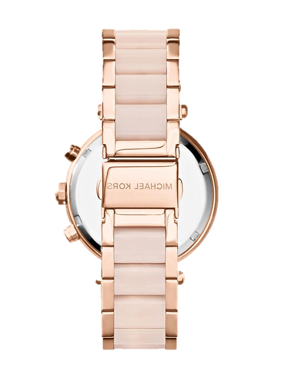 Michael Gold Blush Acetate Watch