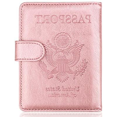 Passport Holder Cover Case Travelling Cards Carrier Wallet P