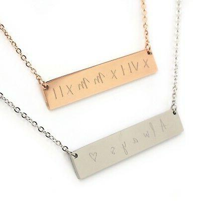Personalised Necklace Gift