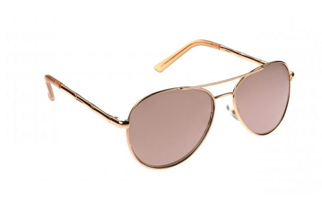 Panama Jack PJ87 Women's Sunglasses Aviator Pilot ROSE GOLD