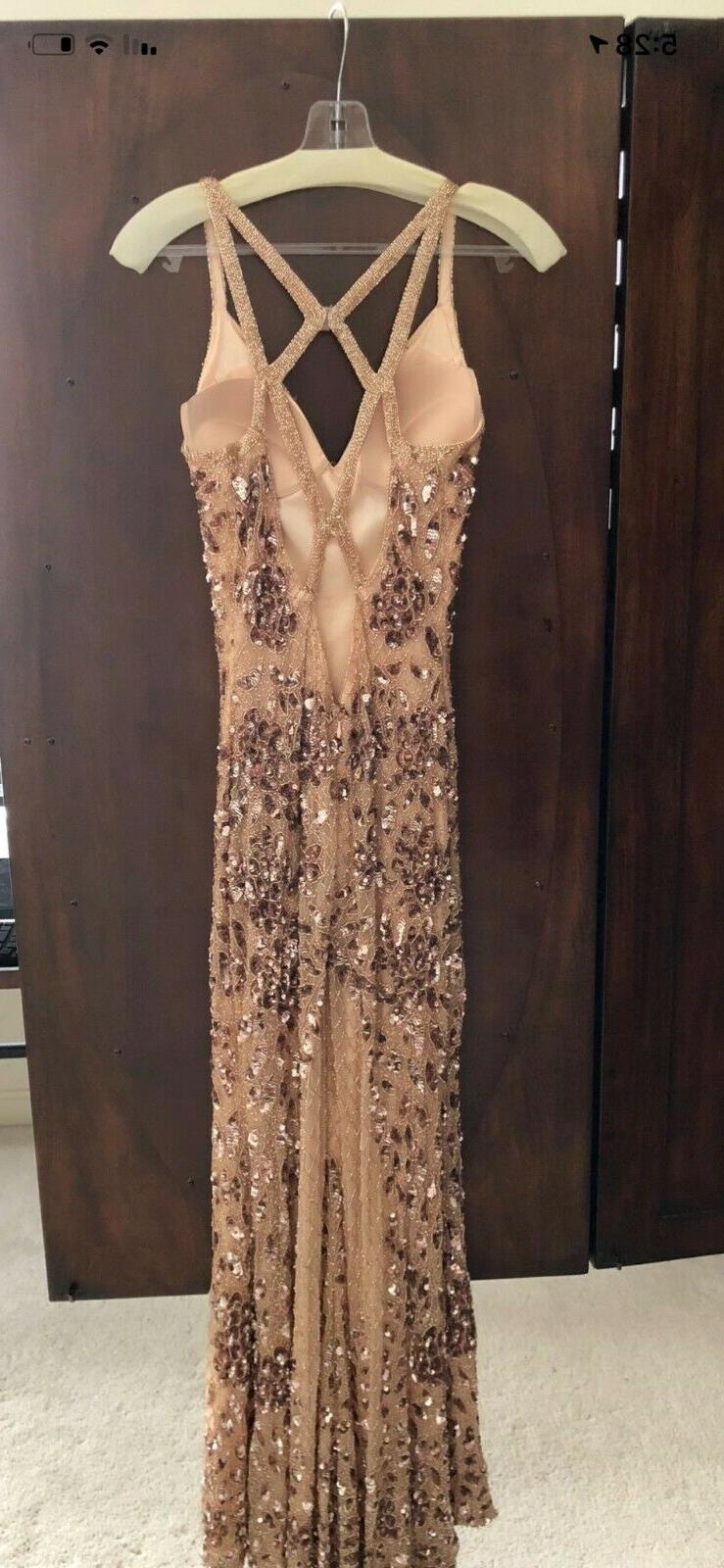 Primavera Rose Sequenced Dress 6 great condition