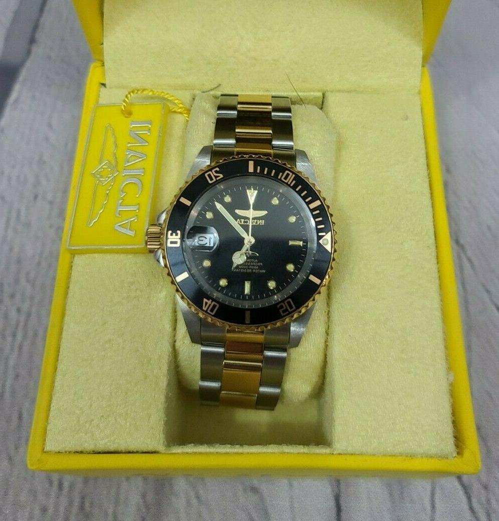 pro diver 8927ob two tone gold steel