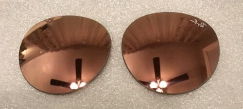 Ray Round Rose Gold Mirror mm Lenses