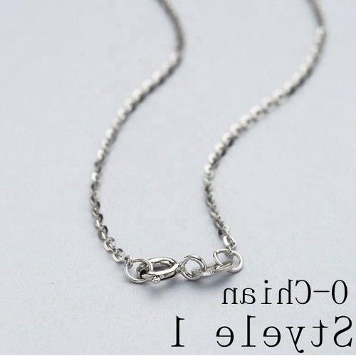 REAL Silver Necklace SOLID SILVER Jewelry Italy