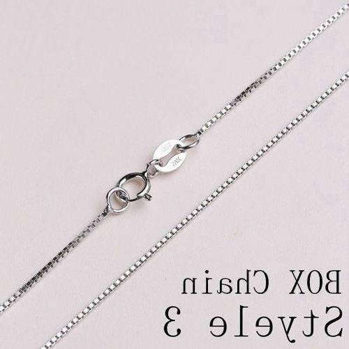 REAL Silver Chain SOLID SILVER .925 Jewelry