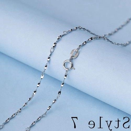 REAL 925 Silver Chain SILVER Jewelry