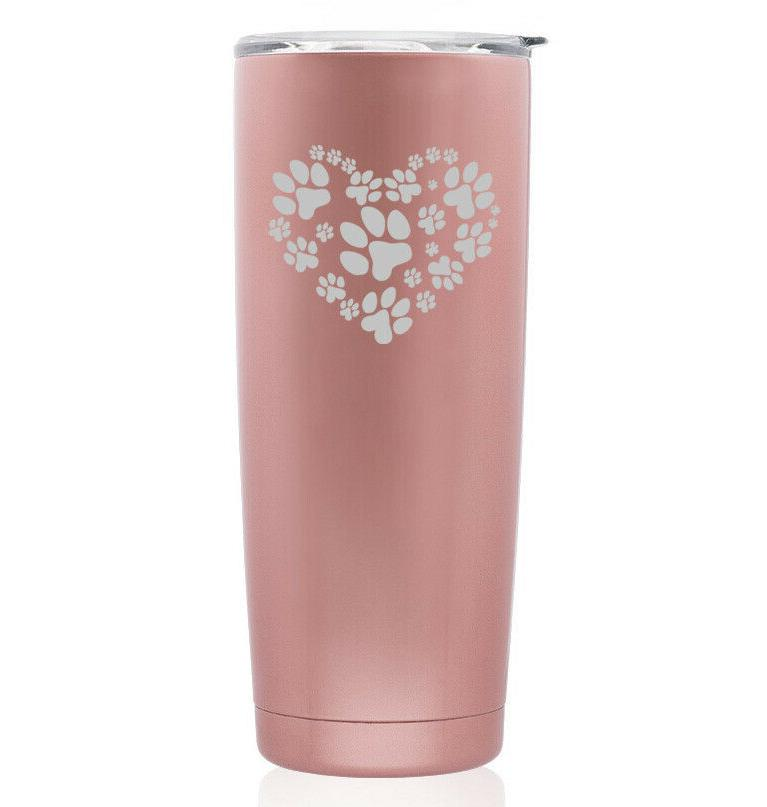 rose gold double wall stainless steel tumbler