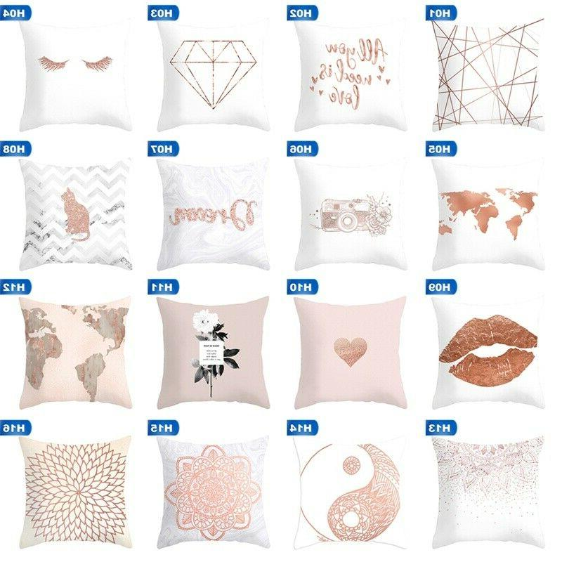 Rose Pillow Cover Home Hot