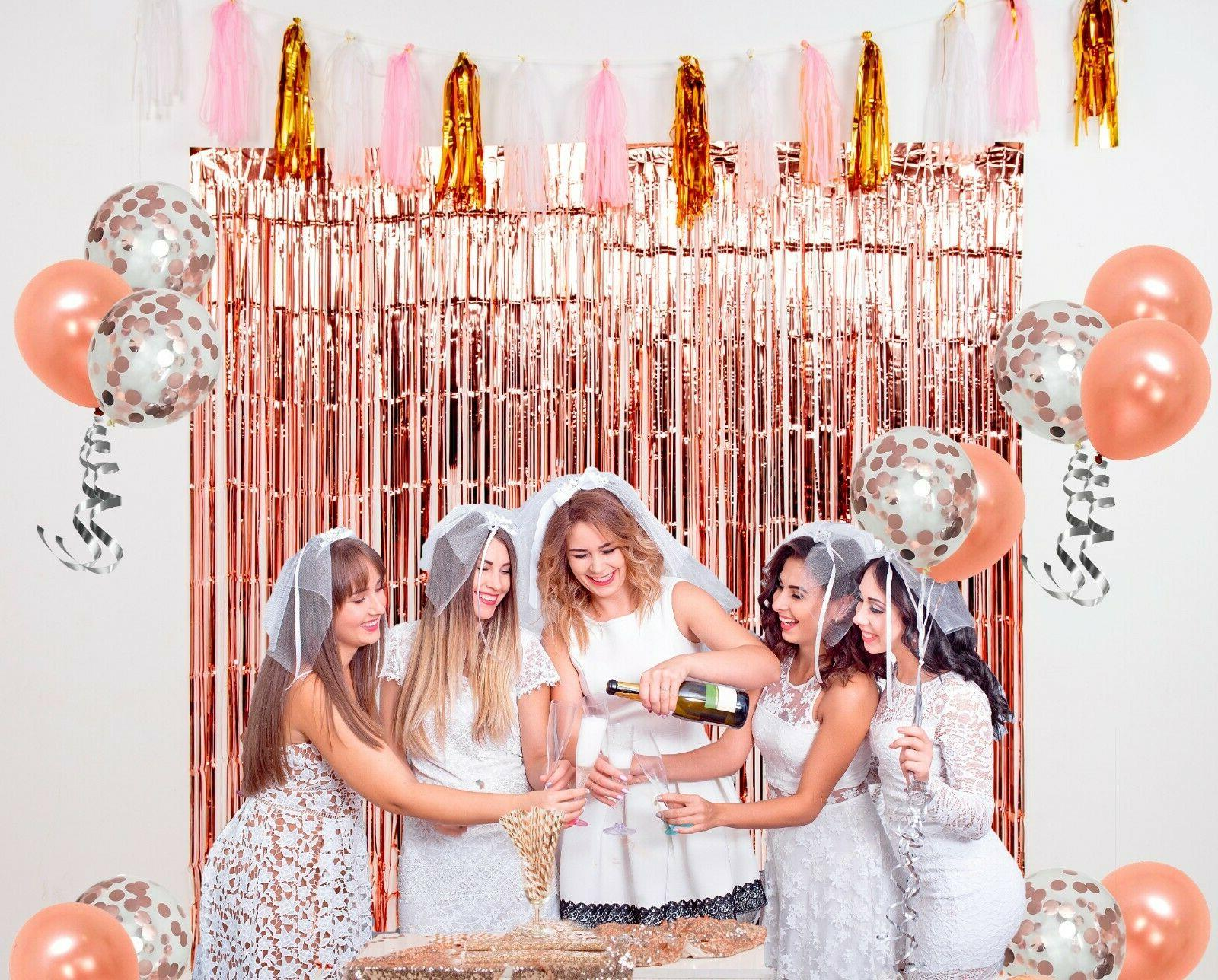 Rose Gold Party by Birthday Decoration