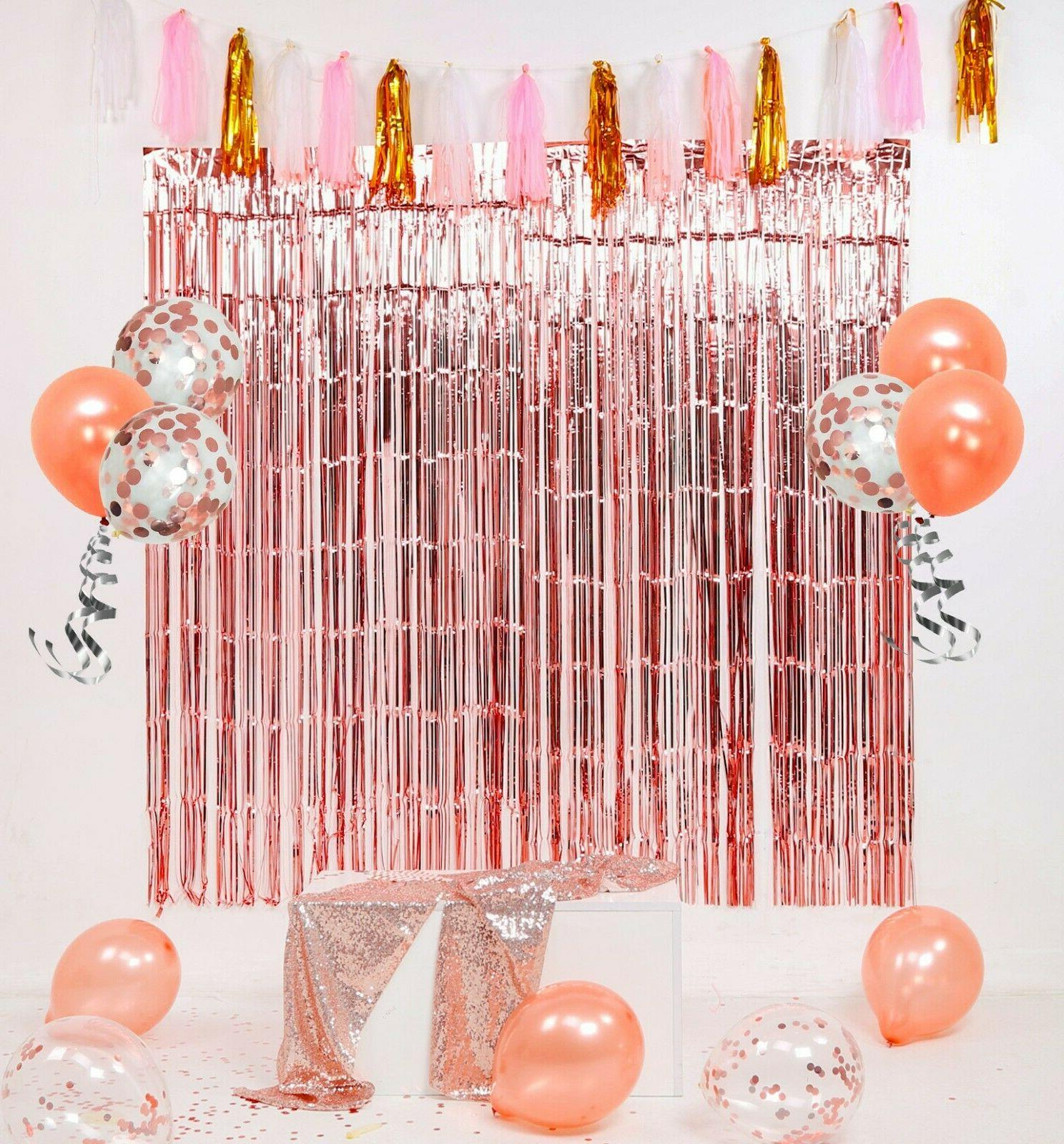 Rose Gold Decorations by for Birthday Decoration