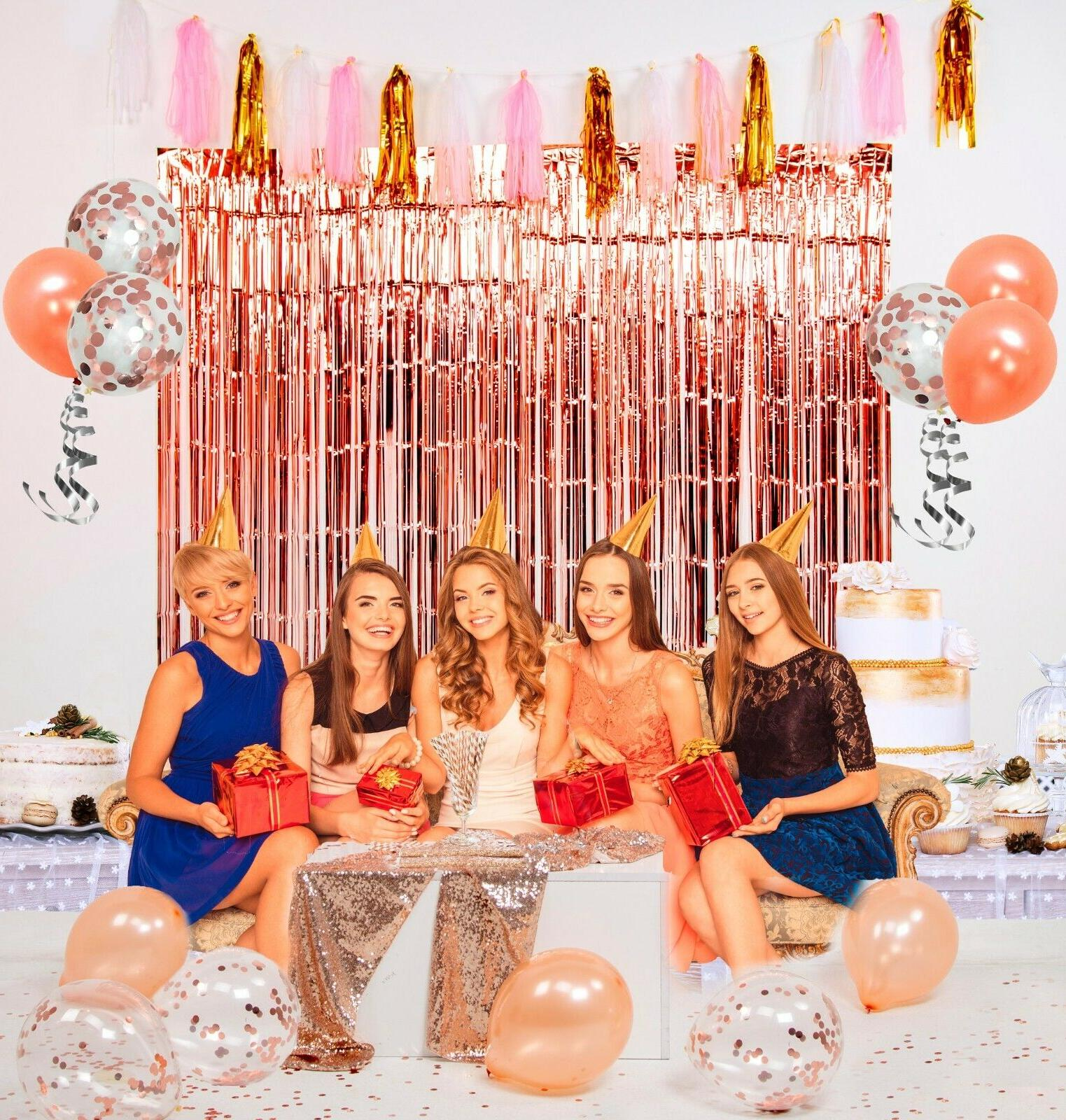rose gold party decorations by for birthday