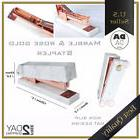 Rose Gold Stapler Heavy Duty, Desktop Staplers Home Office S