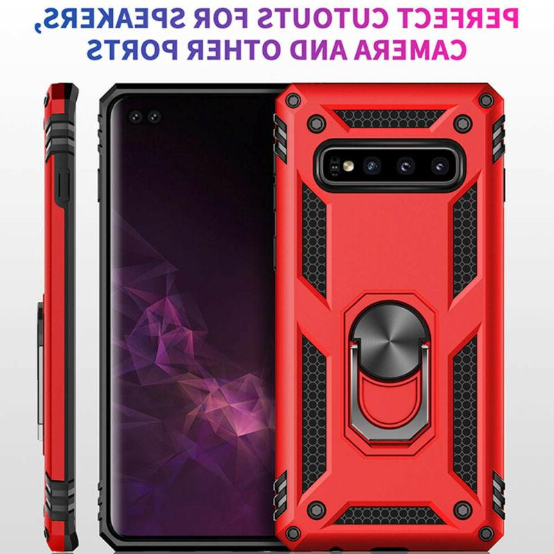 Armor for Galaxy Note 10 Plus 5G 9 S10 S9 Magnetic Ring