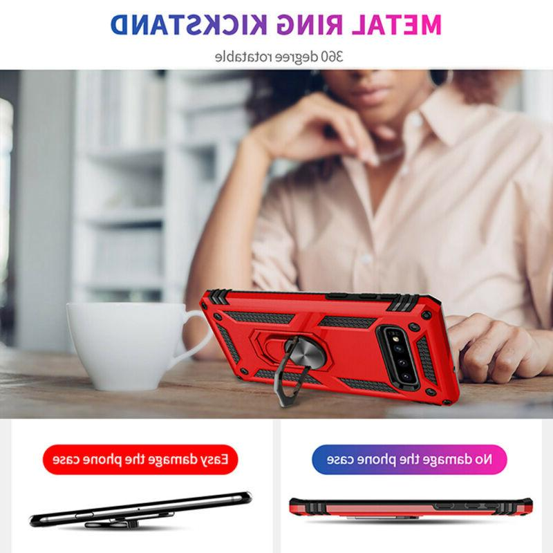 Armor Case for Samsung Galaxy 10 5G Note 9 S10 S9 Magnetic