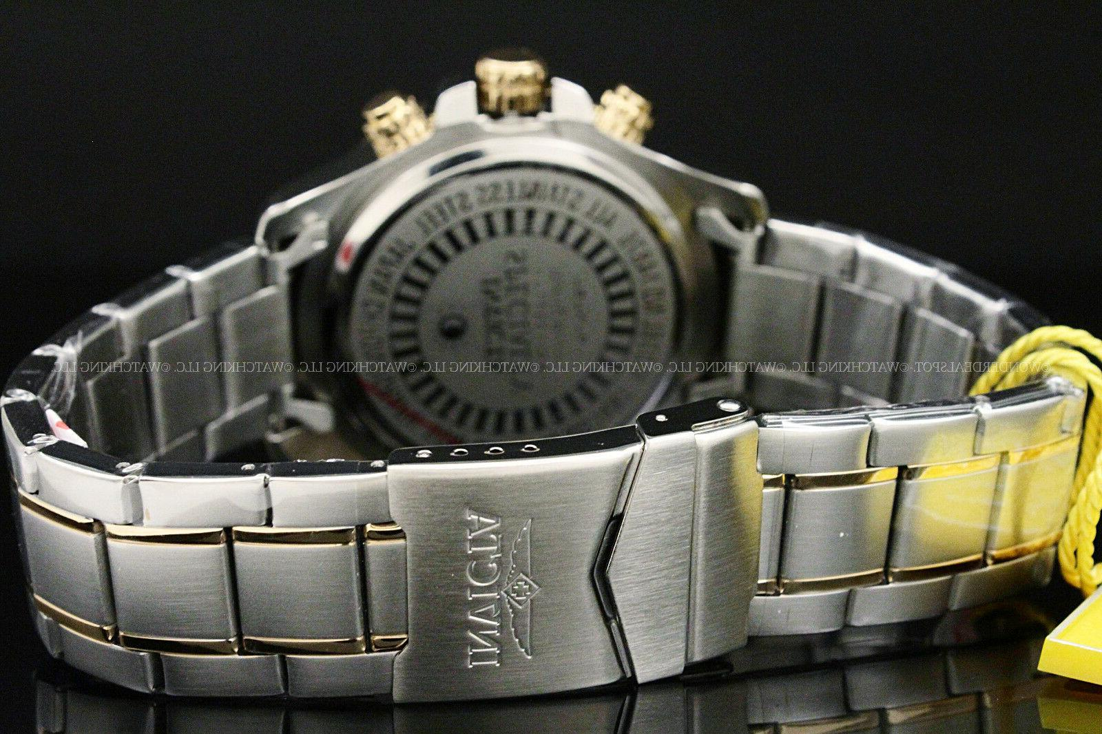 Invicta Plated Dial Chrono Watch