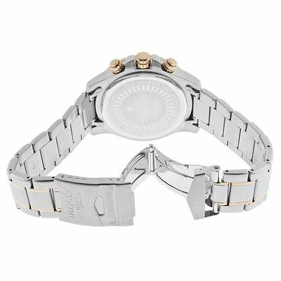 Men's Textured Stainless Steel & Plated