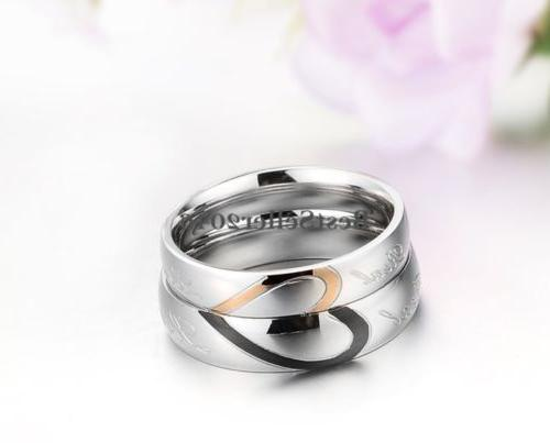 Stainless Steel Love Heart Promise