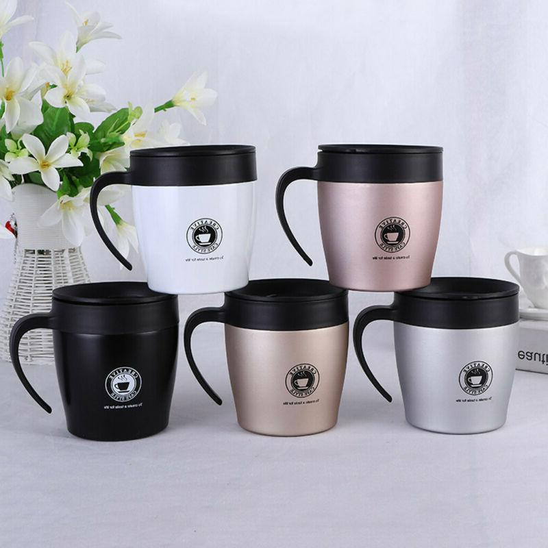 stainless steel thermos coffee mug water cup