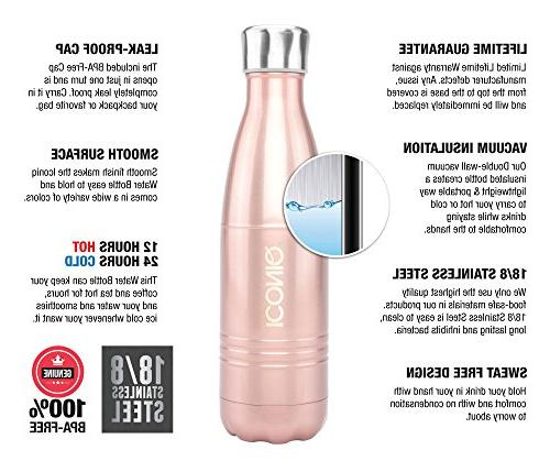 ICONIQ Steel Insulated Bottle, Ounce