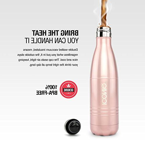 ICONIQ Steel Vacuum Insulated Ounce