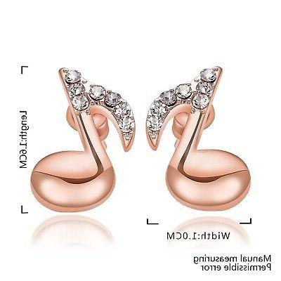 Acxico Fashion Earrings rose gold
