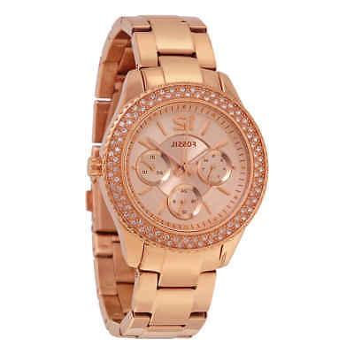 stella rose dial rose gold tone ladies