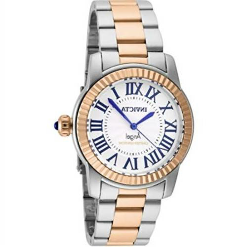 swiss womens angel rose gold plated limited