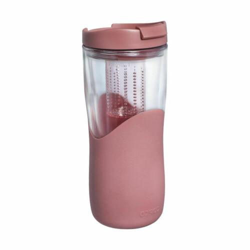 tea thermal with removable infuser insulated tumbler