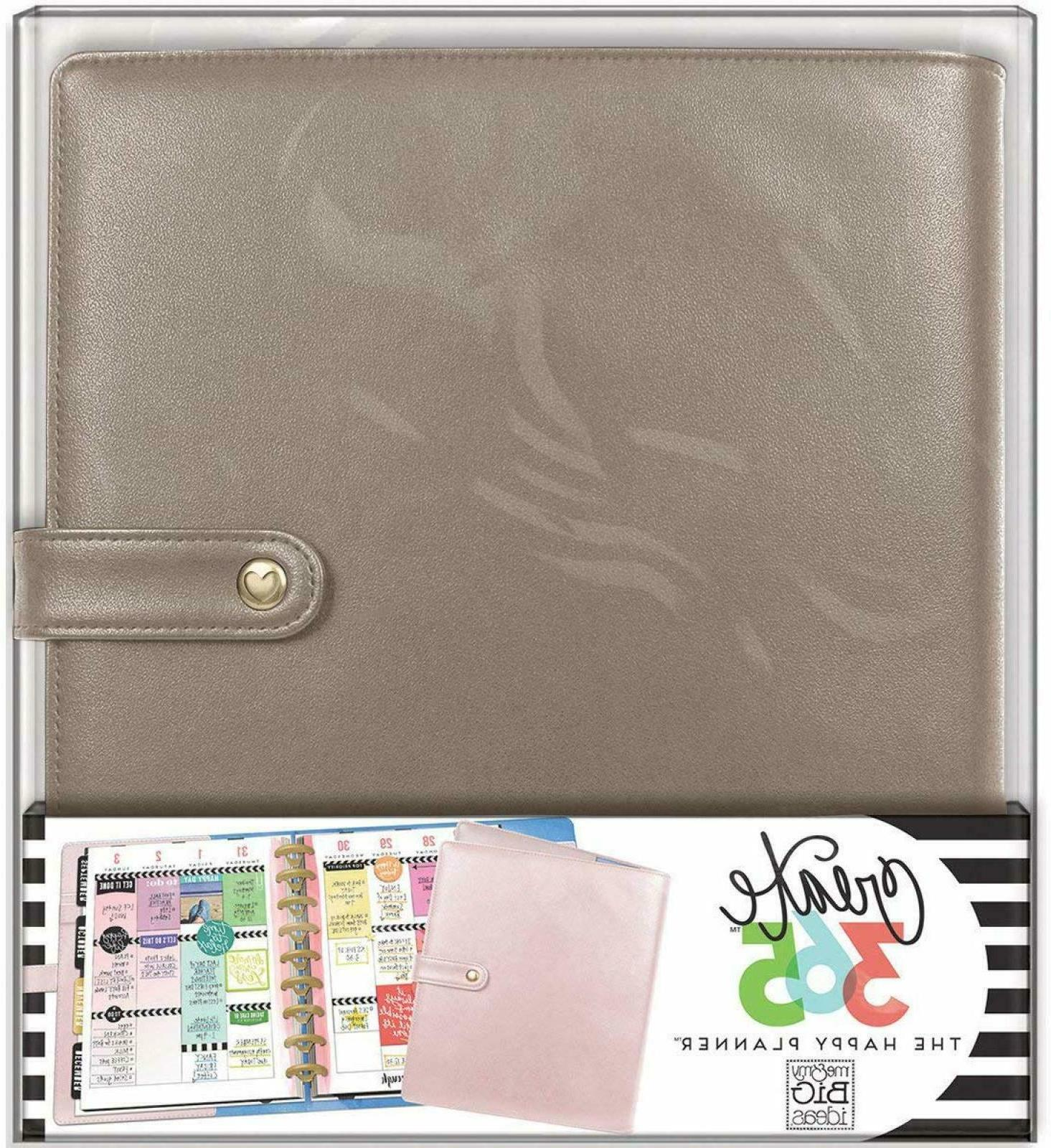 The Happy Planner Classic Deluxe Cover Rose Gold 10.8 x 9.9